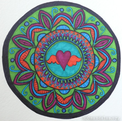 Follow Your Heart Mandala