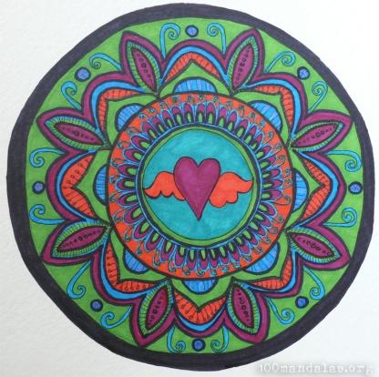 Follow Your Heart Mandala