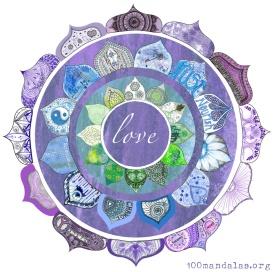 Positive Intention Lotus Mandala