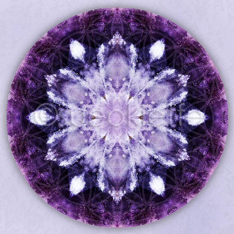Sue O'Kieffe Digital Mandala
