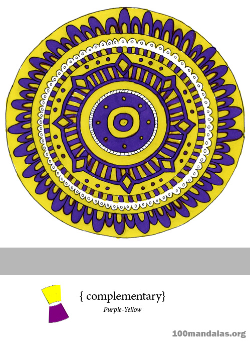 Complementary-Purple-Yellow