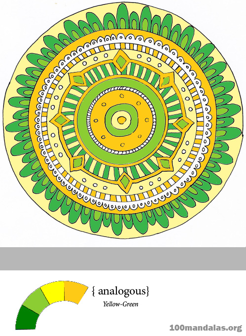 Coloring Mandalas How To Choose Colors Create Color Harmony