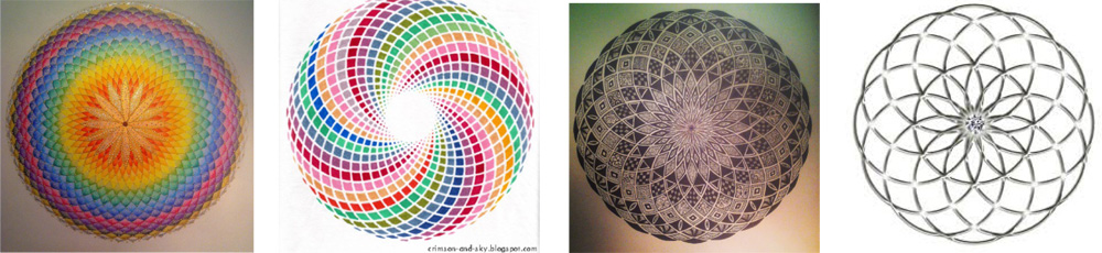 Sacred Geometry – How to Draw Torus | How to Draw Mandalas