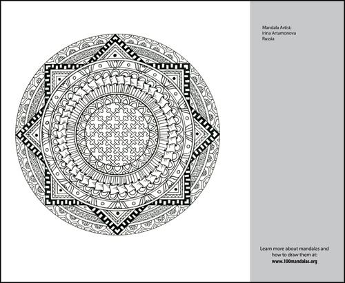 Free Mandala Coloring Book | How to Draw Mandalas and the 100 ...