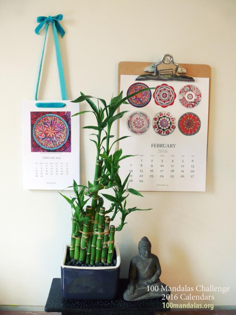 2016 Mandala Calendar