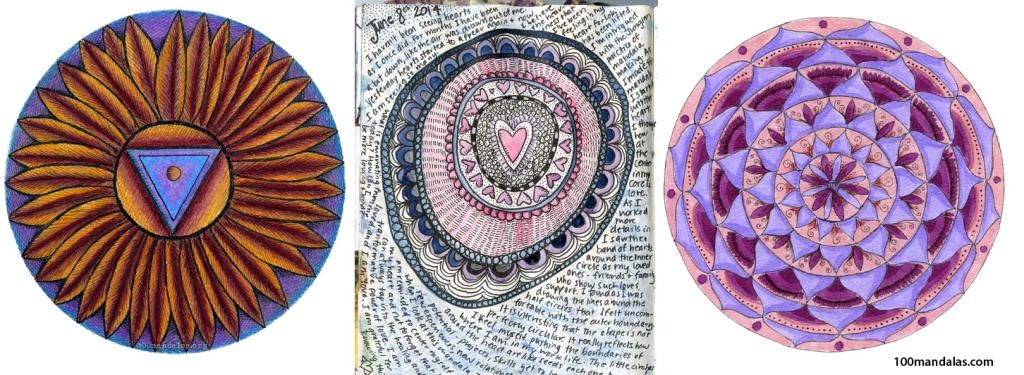 Personal Mandalas - Contemplative drawings for personal insight and healing