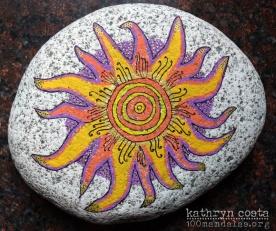 Target Stone Mandala