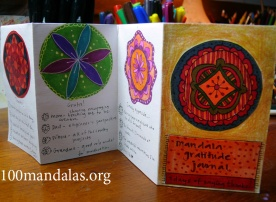 Mini Mandala Gratitude Journal