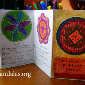 Mini Mandala Gratitude Journal