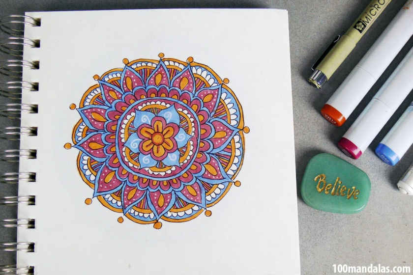 How To Draw A Mandala For Beginners How To Draw Mandalas And The