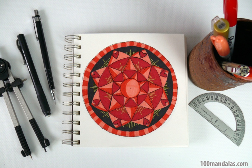 How to Draw Perfectly Symmetrical Mandalas for Beginners