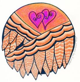 Embracing My Loved One Mandala