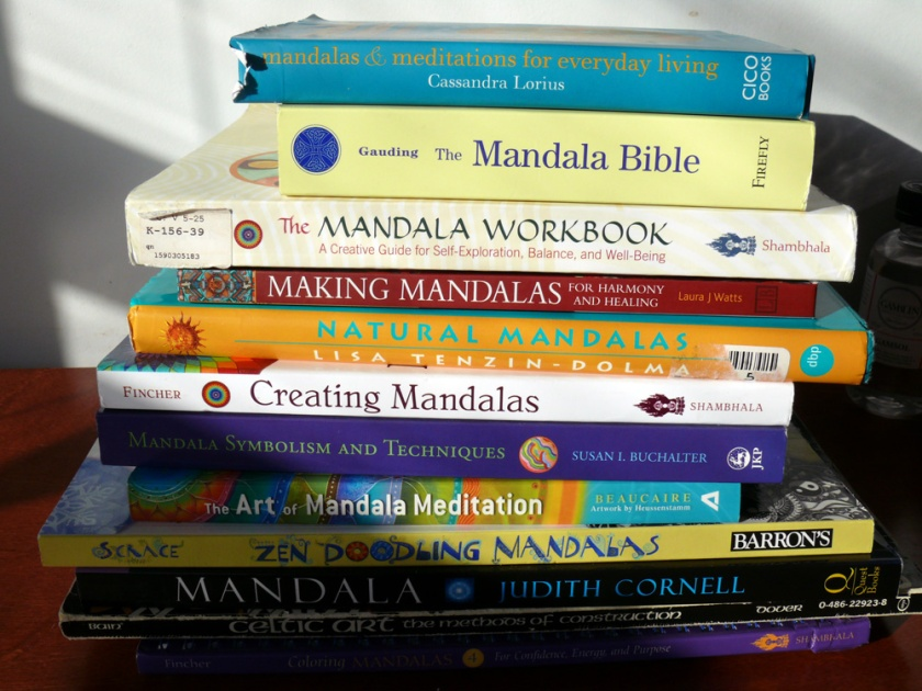 Books on Mandalas - Creating, Drawing, Meditation, For Healing, Labyrinths