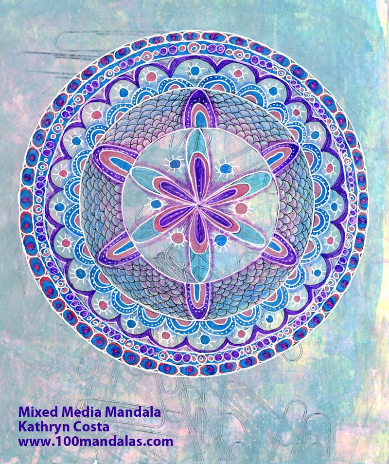 Mixed Media Mandala Webinar