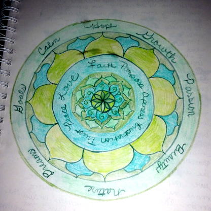Mandala by Amy Fratto
