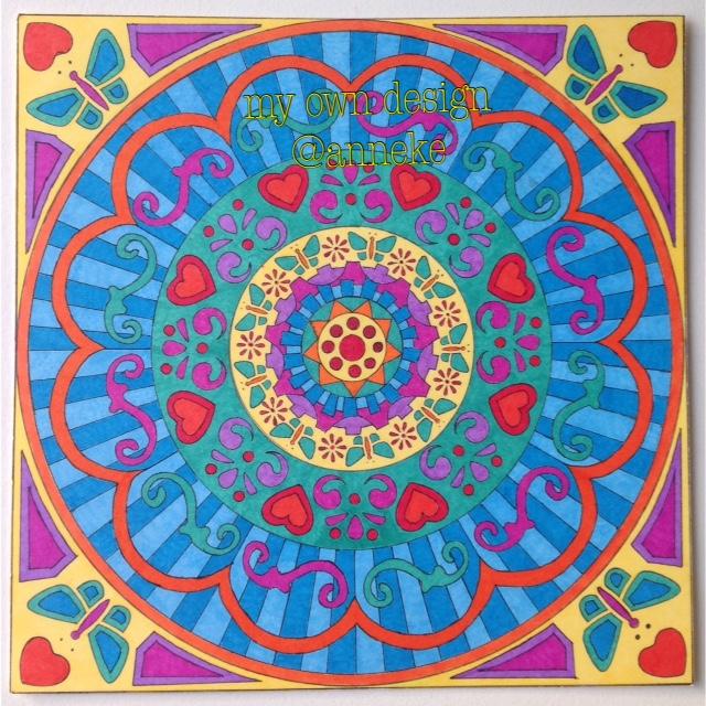 Mandala by Anneke Veenstra