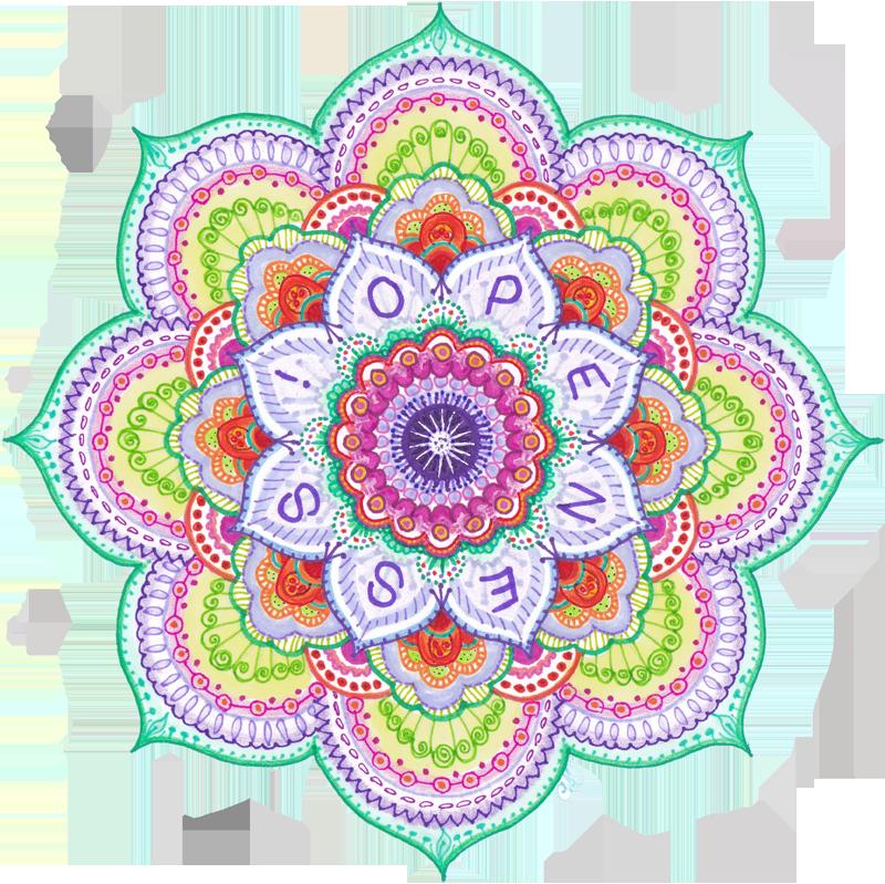 Mandala by Carol Ivy