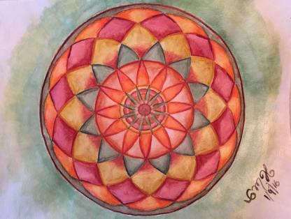 Mandala by Clarissa La Gitanita