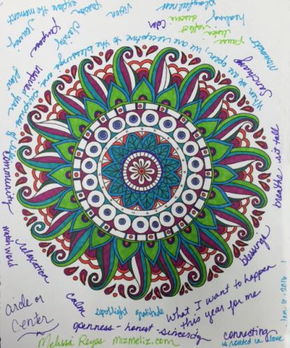 Mandala by Mellissa Reyes