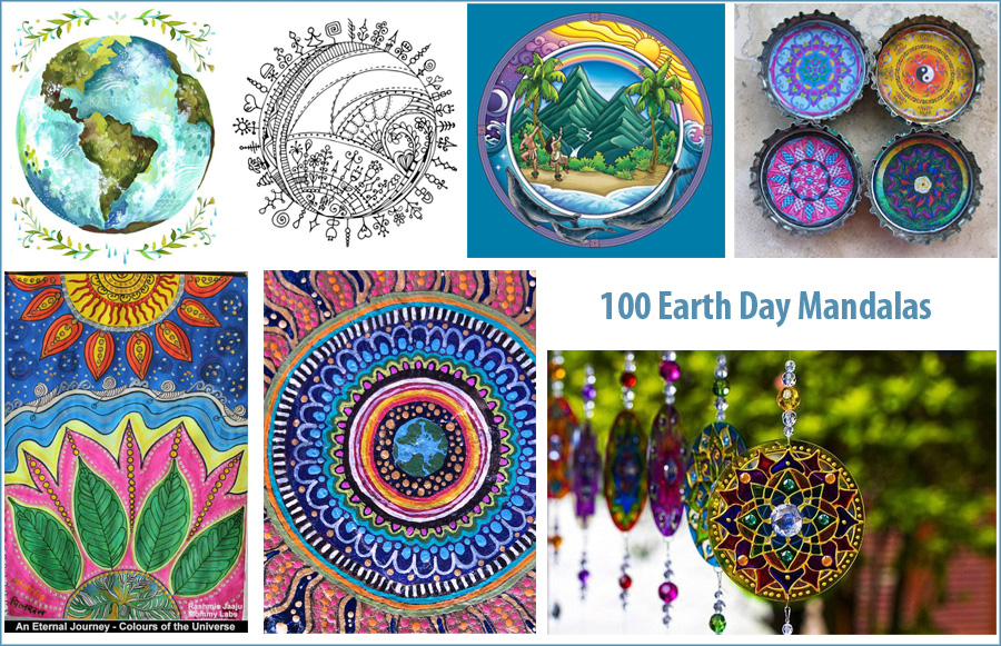 100 Mandalas for Earth Day How to Draw Mandalas and the 100 Mandalas Challenge with Kathryn Costa