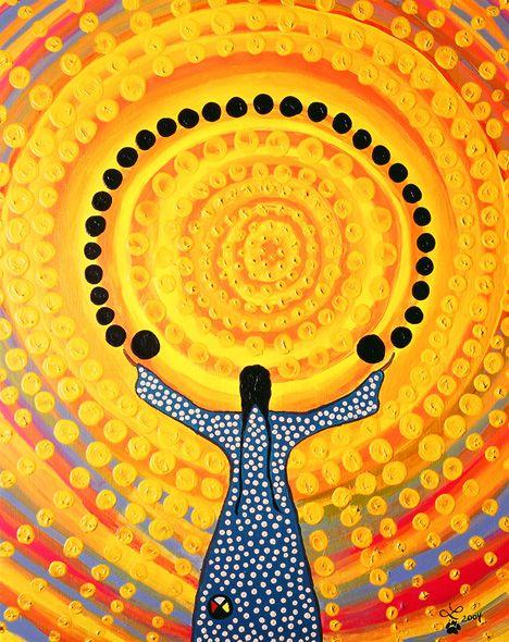 sun-woman