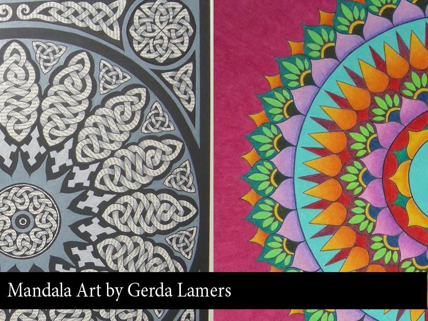 Gerda Lamers Mandala Art
