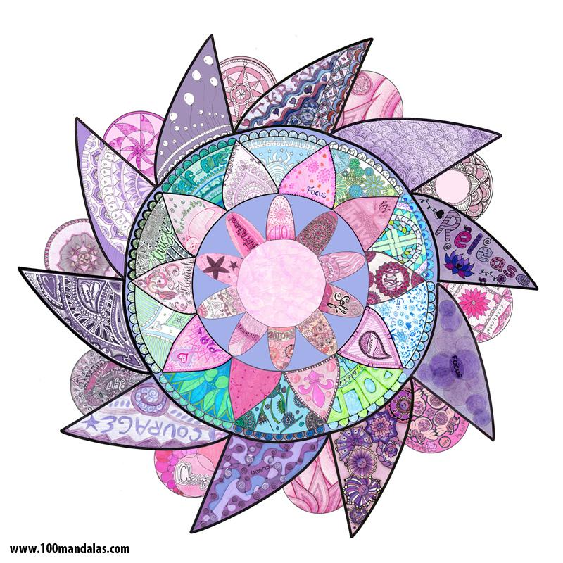 2016 Inspired Year Mandala