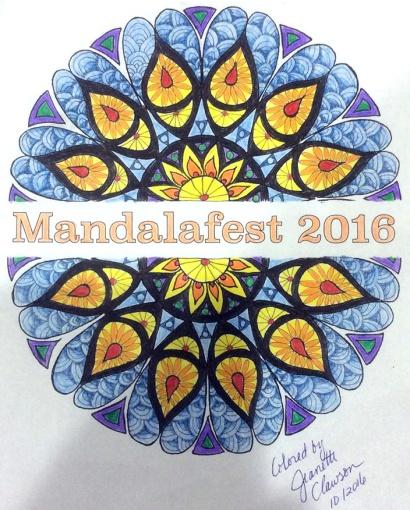 Mandalafest Coloring Contest