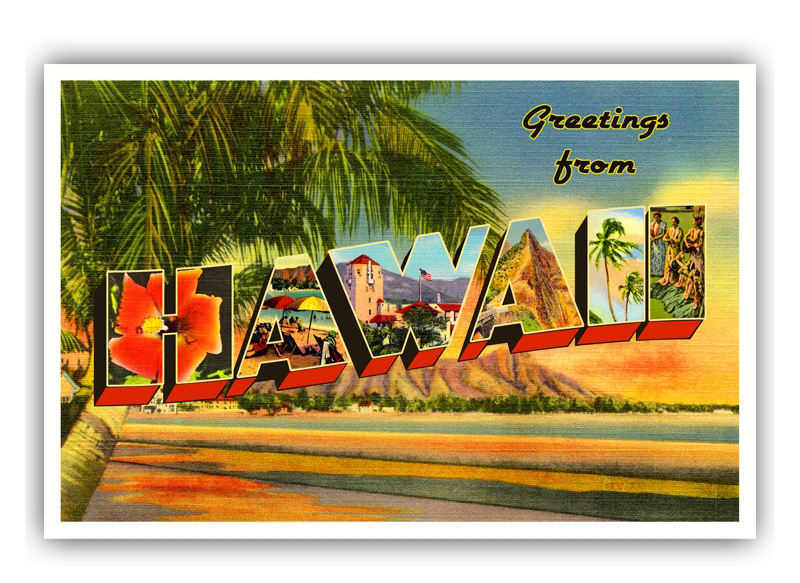 Postcard-Hawaii