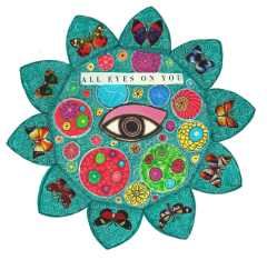 Thanks to you, Kathryn, I have fallen in love with mandala art. Your own work, knowledge, devotion, energy and generosity in sharing all these, make being a part of 100mandalas and Sharing Circle rare blessing these days. Keep on doing such a great job! ~ Nevena Lunic, Serbia