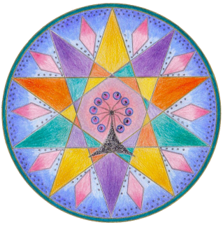 I have learned so much from you on my mandala journey these past couple of years; there have been many discoveries on the personal and the creative levels and I have enjoyed every minute shared with you and your mandala community. ~ Sally McLennan, South Australia