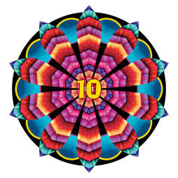 I love being a part of this community--it's a celebration of creativity! Drawing mandalas and especially learning about the Great Round, has given me better psychological tools to deal with life than years of therapy. I'm really grateful to be a part of it. ~ Charity Lund, Utah, USA