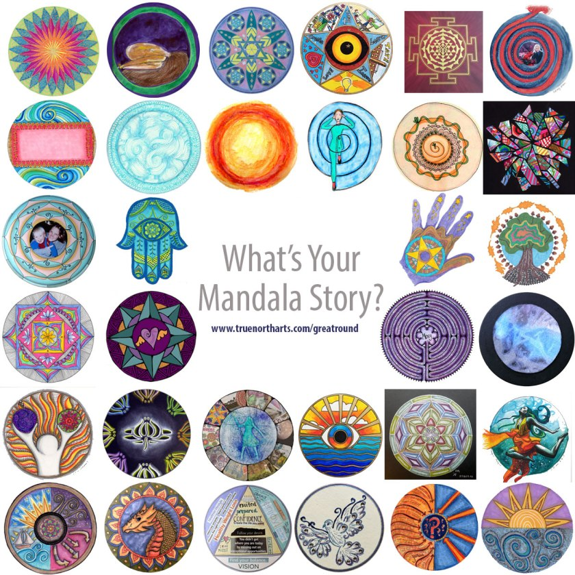 Great Round Course is all about exploring your mandala stories.