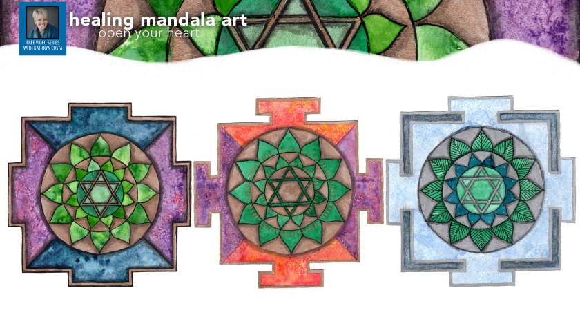 How to Create Healing Mandala Art