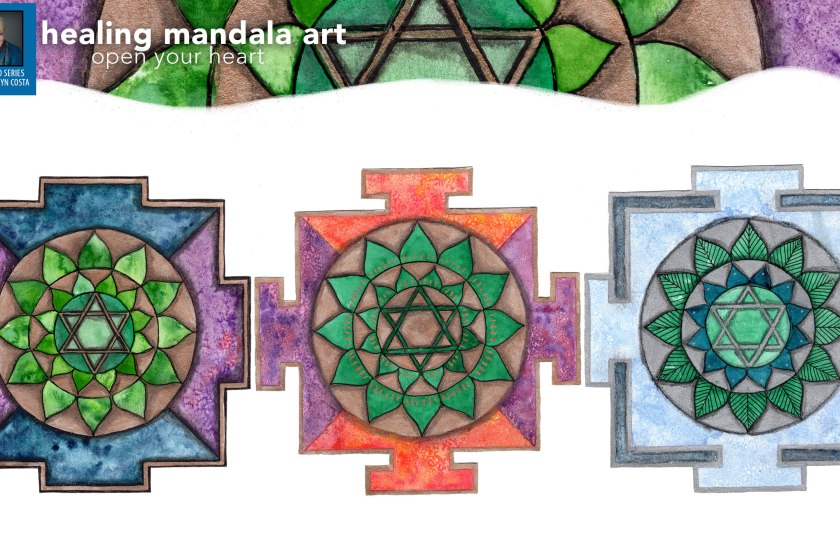 How to Create Healing Mandala Art